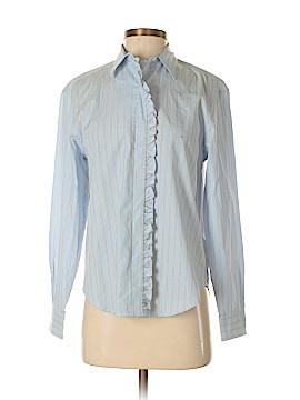 Jones New York Sport Long Sleeve Button-Down Shirt Size P