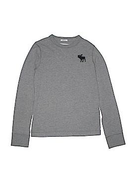 Abercrombie Long Sleeve T-Shirt Size L (Kids)