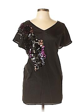 Chelsea & Violet Short Sleeve Blouse Size M