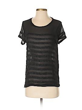 M. Patmos Short Sleeve Silk Top Size S