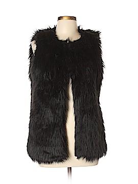 Gabriella Rocha Faux Fur Jacket Size L