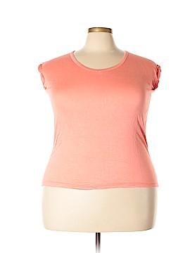 French Laundry Short Sleeve T-Shirt Size 2X (Plus)