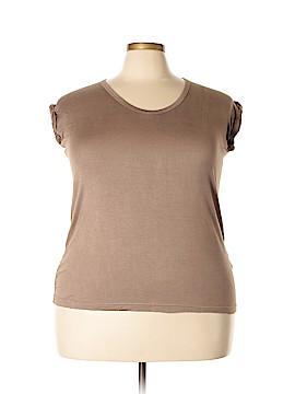 One World Short Sleeve T-Shirt Size 3X (Plus)