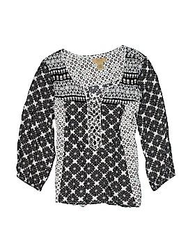 Valerie Stevens 3/4 Sleeve Blouse Size S