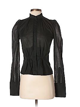 Jill Stuart Long Sleeve Button-Down Shirt Size Sm (1)