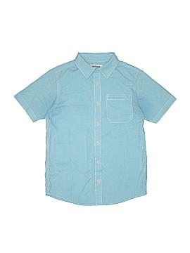 Urban Pipeline Short Sleeve Button-Down Shirt Size L (Kids)
