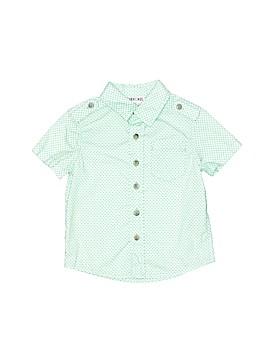 Cherokee Short Sleeve Button-Down Shirt Size 12