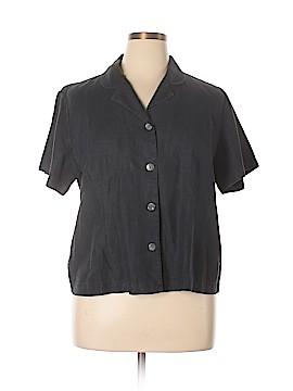Orvis Short Sleeve Button-Down Shirt Size 18 (Plus)