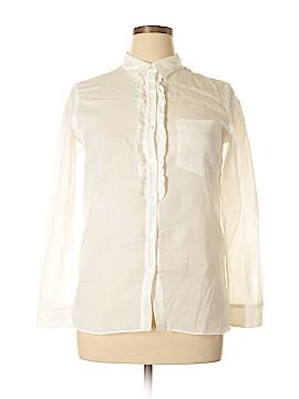 G1 Long Sleeve Button-Down Shirt Size M