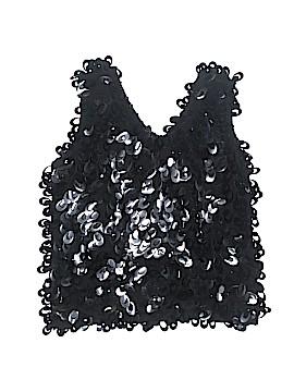 J.A.C. Sleeveless Silk Top Size M