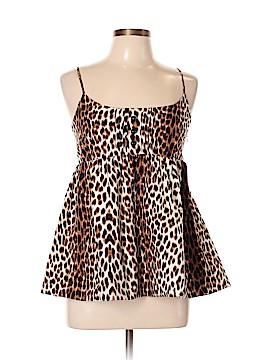 Julie Haus Sleeveless Silk Top Size 10