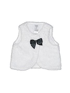 Carter's Faux Fur Vest Size 3 mo