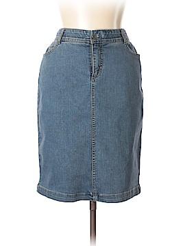 Charter Club Denim Skirt Size 8