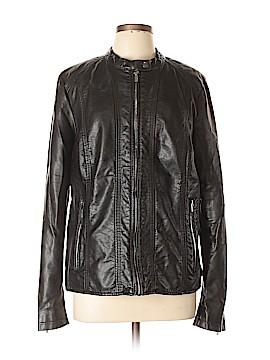 Worthington Faux Leather Jacket Size XL