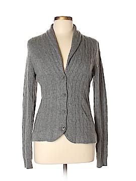 Aqua Cashmere Cashmere Cardigan Size L