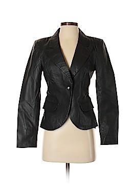 Boston Proper Leather Jacket Size 2