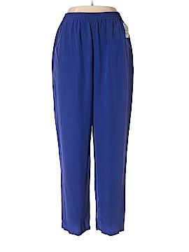 City Silk Silk Pants Size XL