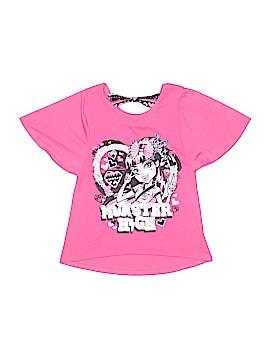 Monster High Short Sleeve T-Shirt Size 8