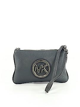 MICHAEL Michael Kors Leather Wristlet One Size