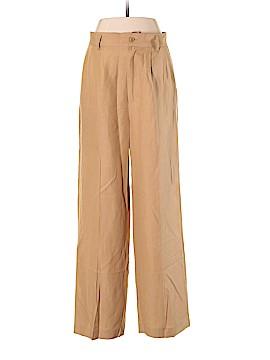 Ballinger Gold Silk Pants Size 8