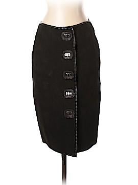 Jean Paul Gaultier Leather Skirt Size 6