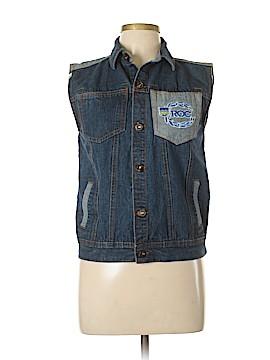 Rocawear Denim Vest Size 14