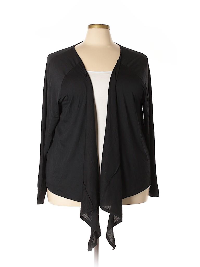 Livi Active Women Cardigan Size 26 (Plus)