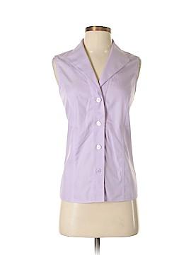 Jones New York Collection Sleeveless Button-Down Shirt Size 8