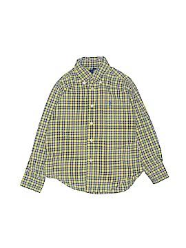 Ralph by Ralph Lauren Long Sleeve Button-Down Shirt Size 4T