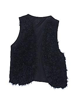 Justice Faux Fur Vest Size 16