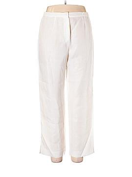 Maria Di Ripabianca Linen Pants Size XXL