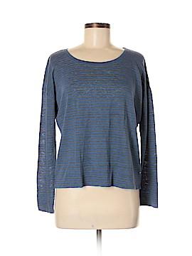 Eileen Fisher Long Sleeve T-Shirt Size M (Petite)