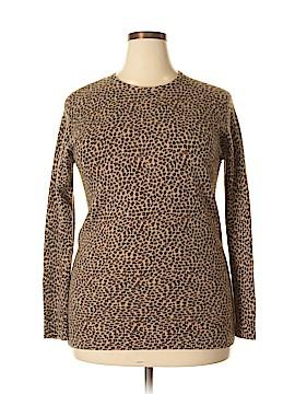 Nina Leonard Wool Pullover Sweater Size XL