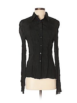 Express Long Sleeve Silk Top Size 5 - 6