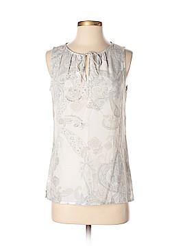 Ecru Sleeveless Blouse Size XS