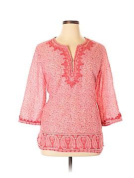 Anne Carson 3/4 Sleeve Blouse Size 2X (Plus)