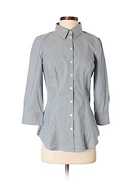 White House Black Market 3/4 Sleeve Button-Down Shirt Size 0
