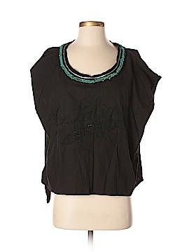 New Romantics Short Sleeve Blouse Size S