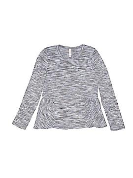 Xhilaration Long Sleeve Blouse Size 7 - 8
