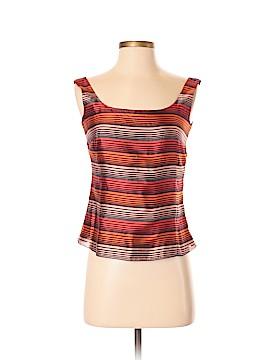 AKRIS Sleeveless Silk Top Size 6