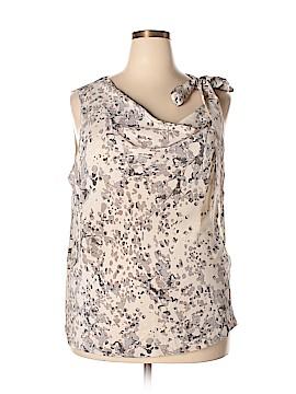 Ann Taylor Sleeveless Silk Top Size XL