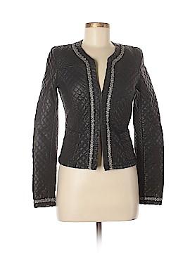 Trafaluc by Zara Faux Leather Jacket Size S