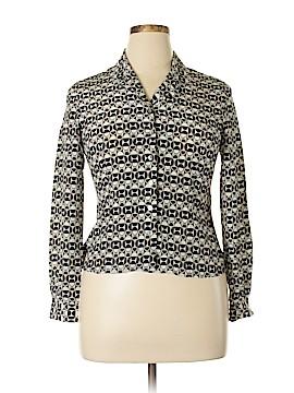 Casual Corner Long Sleeve Blouse Size 10 (Petite)