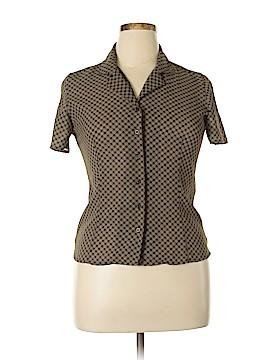 Casual Corner Short Sleeve Blouse Size 10