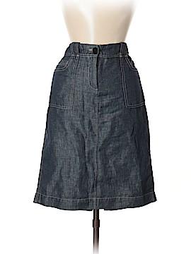Talbots Denim Skirt Size 8 (Petite)