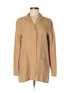 Ballinger Gold Silk Blazer Size M