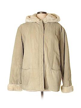 Jones New York Sport Leather Jacket Size L