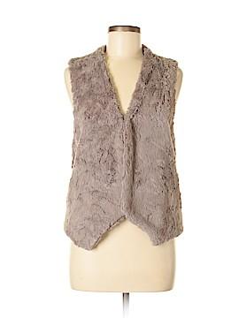 Ella Moss Faux Fur Vest Size S