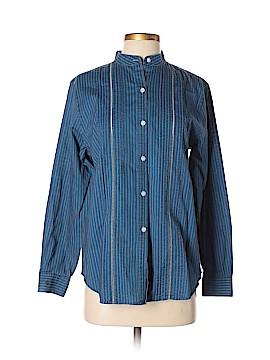 Lauren Jeans Co. Long Sleeve Button-Down Shirt Size 6