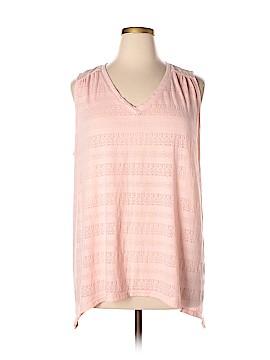 SONOMA life + style Sleeveless T-Shirt Size 2X (Plus)
